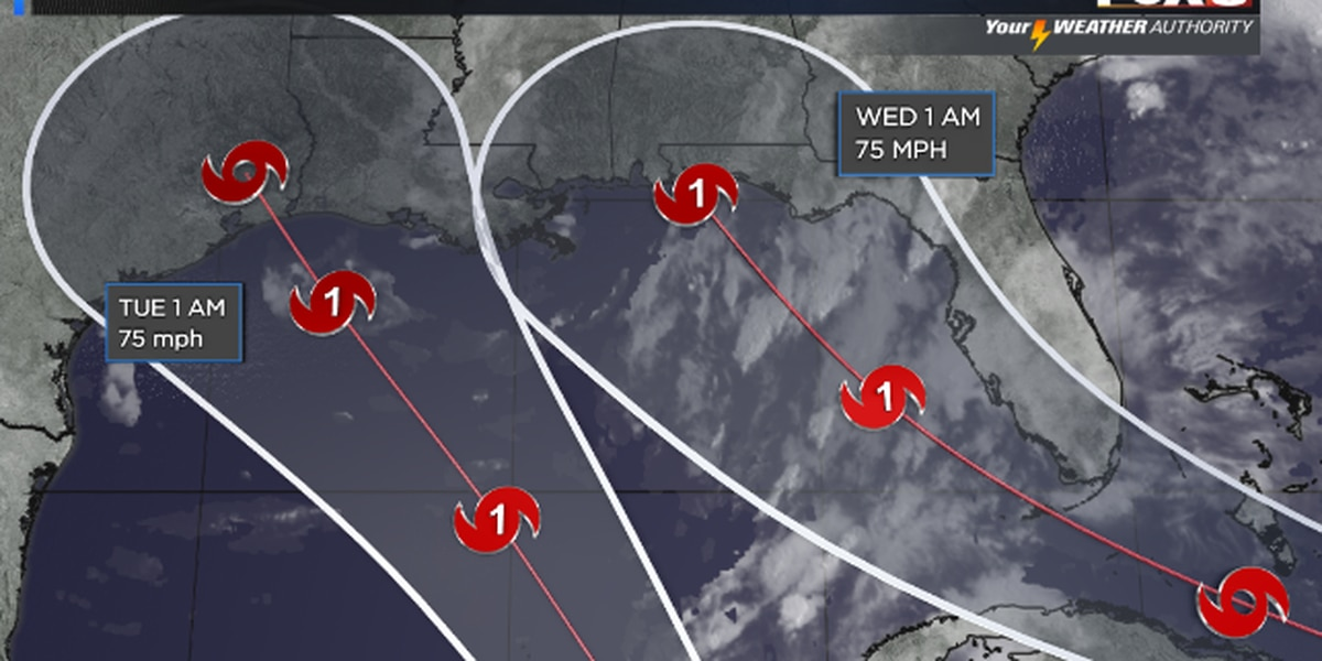Shelby: Two Storms Approach the Gulf This Weekend