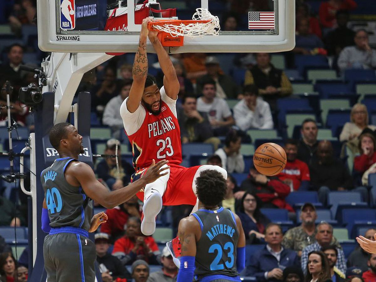 Pelicans win big at home over the Mavericks, 132-106