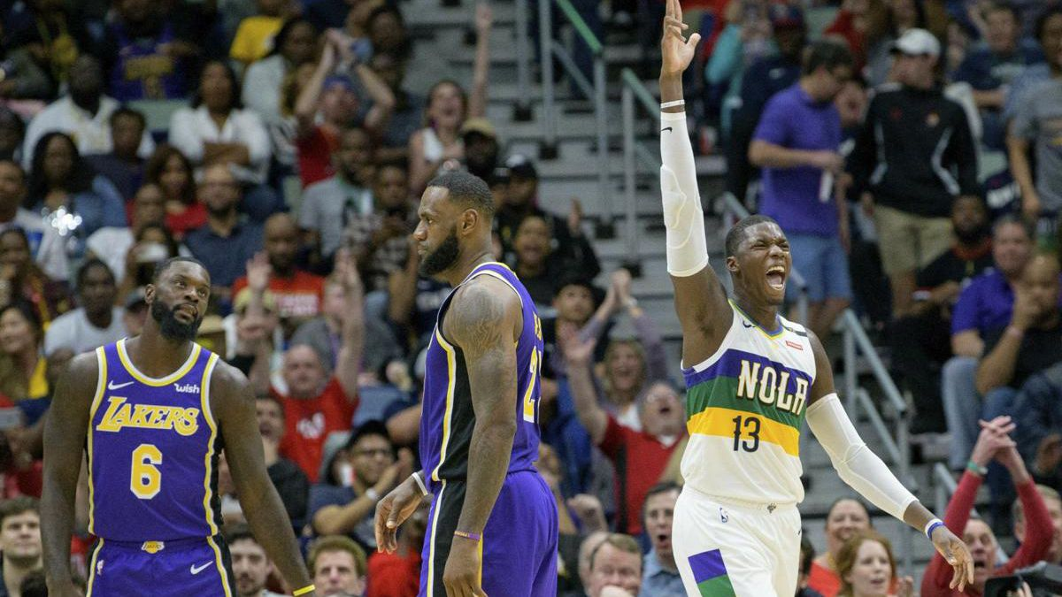 Pelicans rest Davis, still beat LeBron and the Lakers