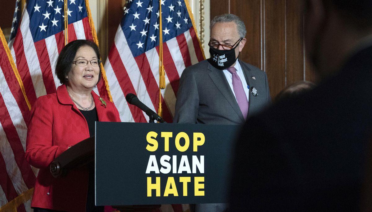 www.fox8live.com: Senate breaks filibuster on Asian-American hate crime bill
