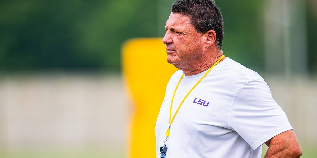 Orgeron gives update on COVID-19 involving his team