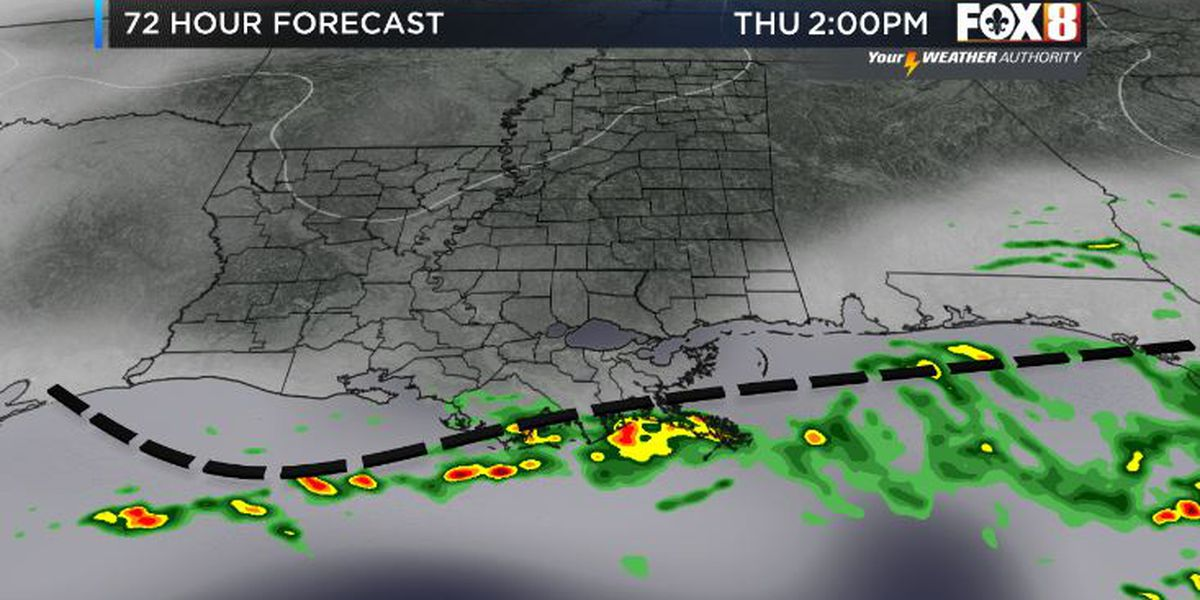 Bruce: A drier day ahead after morning storms
