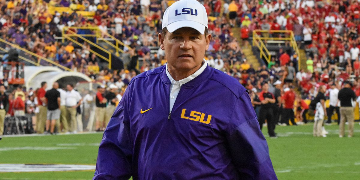 Alleva recommended firing Les Miles in 2013 over inappropriate behavior