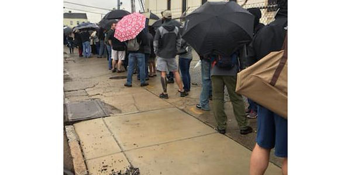 New Orleans gun buy-back cut short after large crowds turn out