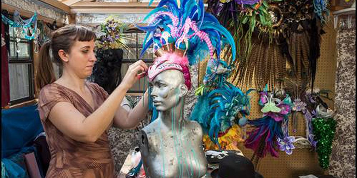 Krewe of Red Beans works to put Mardi Gras artists back to work and spread Carnival spirit