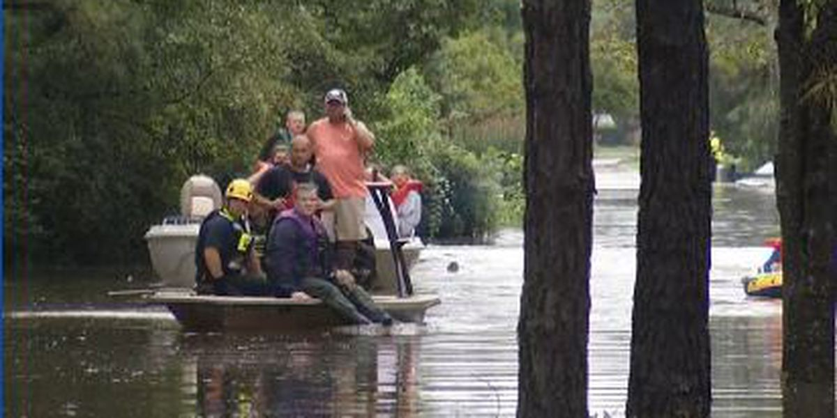 Louisiana Cajun Navy travels throughout Carolinas to help in Tropical Storm Florence