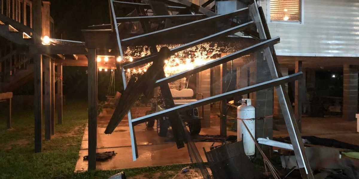 Possible tornado damage reported in Jackson County after severe weather