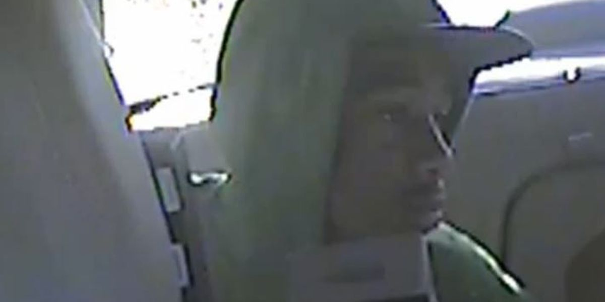 Clear, up-close video shows man accused of robbing taxi driver