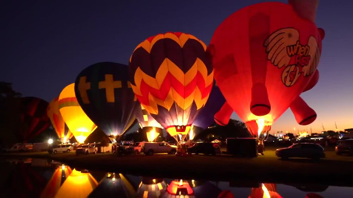 Bayou Road Balloon Festival: New offerings for hot-air balloon fest