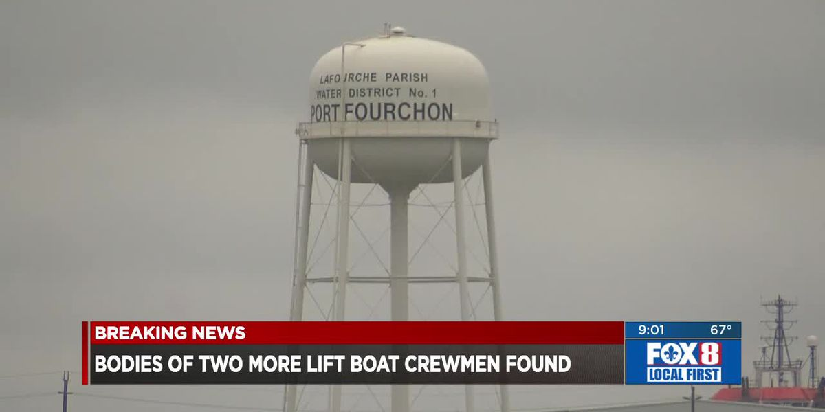 Two more bodies of missing crewmembers recovered after the lift boat disaster