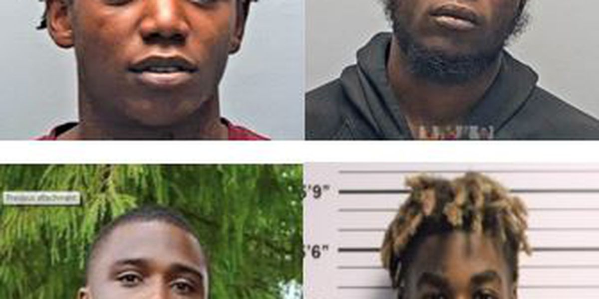 Four suspects sought in two unrelated shootings in Violet, La.