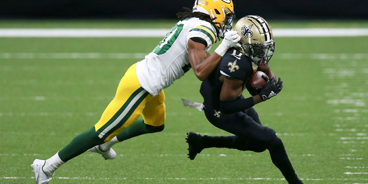 Andrus Peat & Deonte Harris miss practice for Saints Wednesday