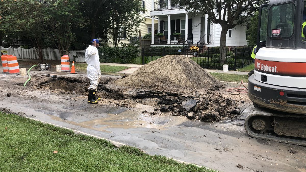 Pipe bursts leading to major work on Lakeview street