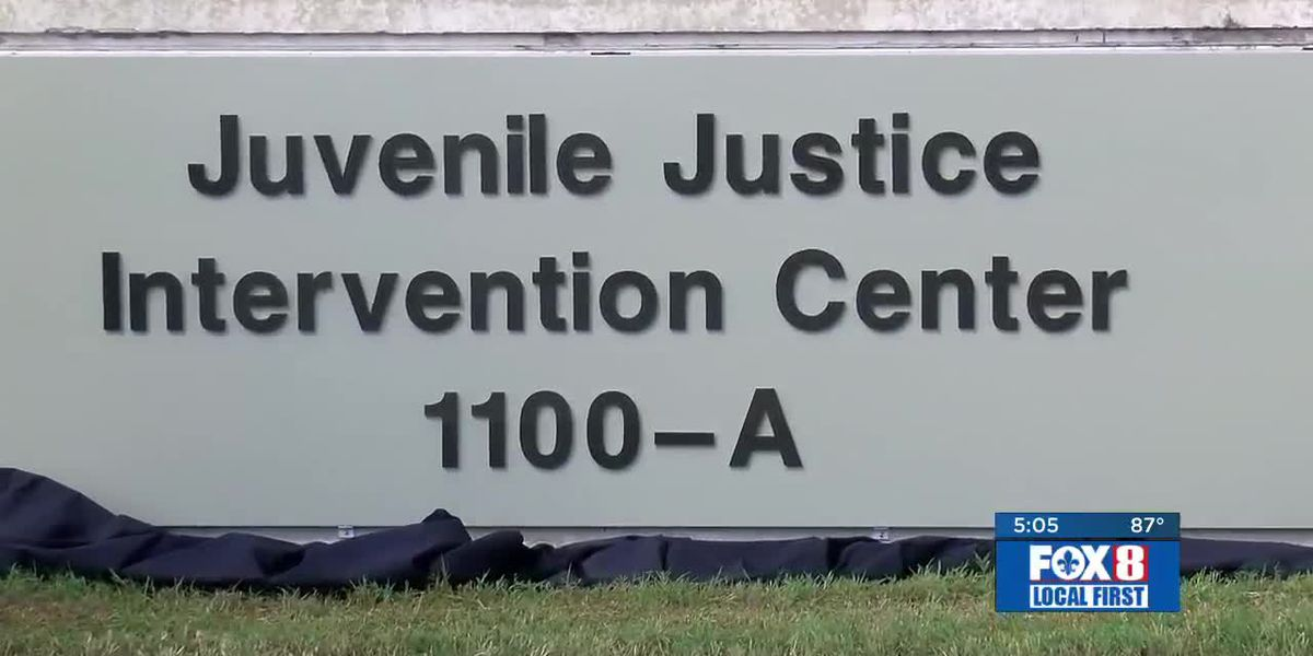 New Orleans juvenile jail renamed ahead of reforms
