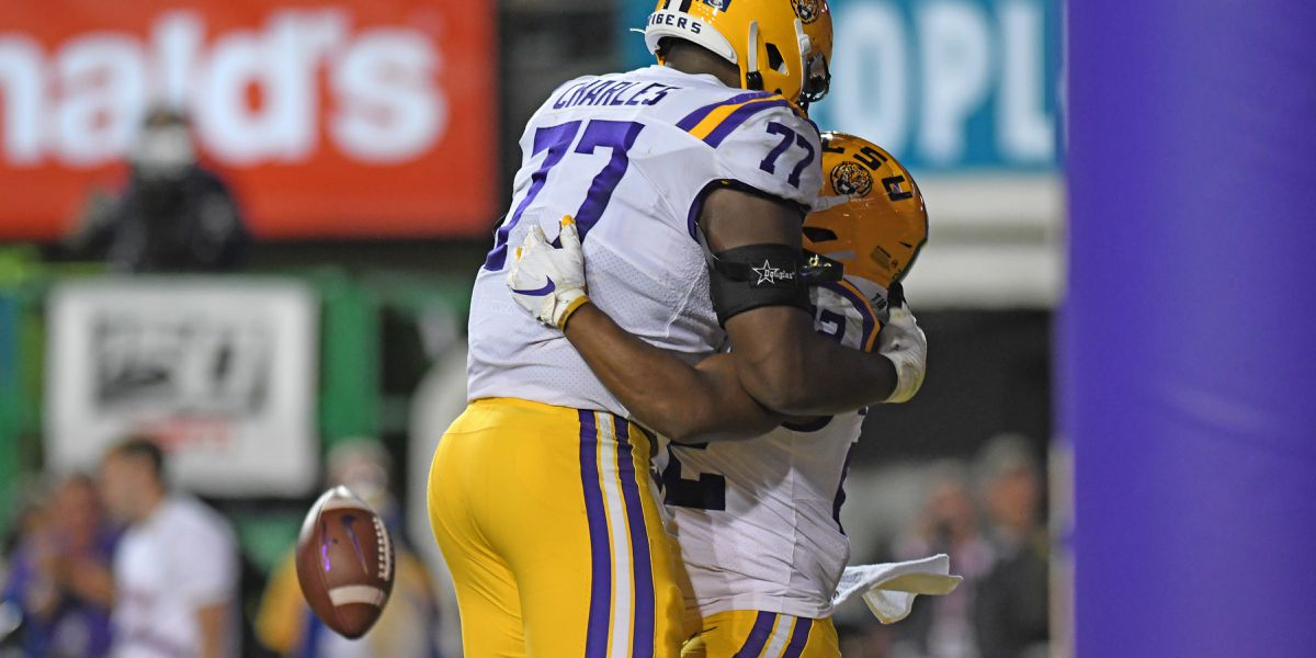 LSU's Saahdiq Charles declares for NFL Draft