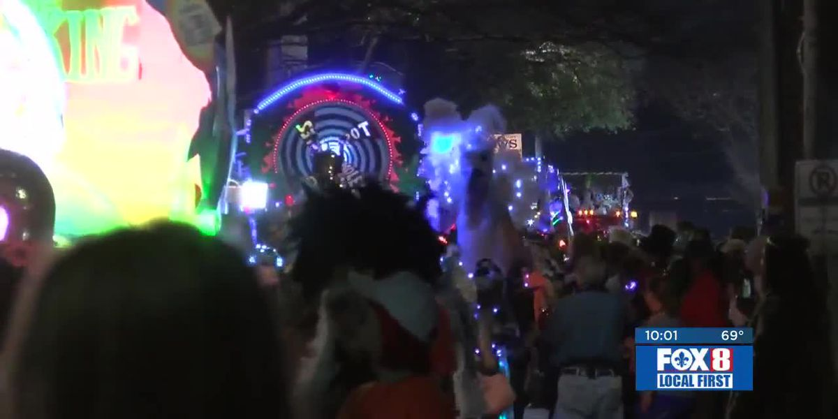 Krewe du Vieux rolls through the French Quarter