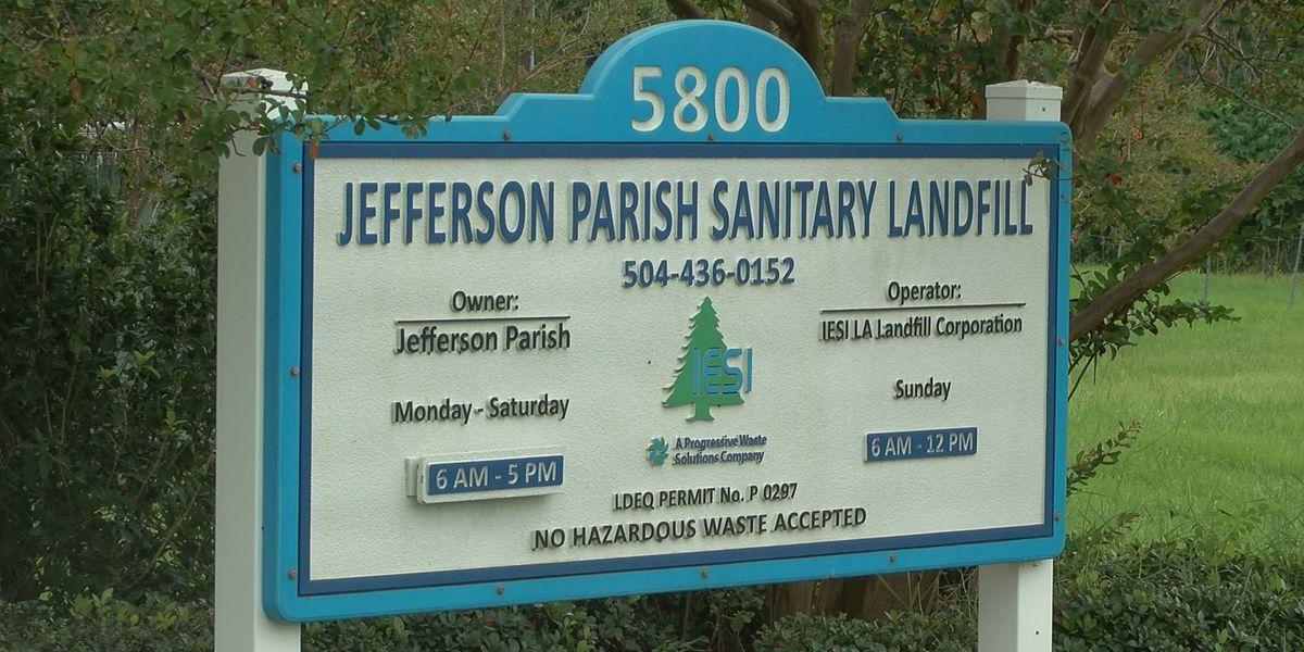 JP Parish President against closing landfill