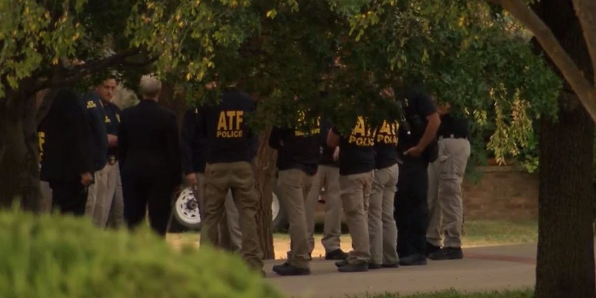 ATF searches Lubbock home for possible connection to gun used in Odessa shootings
