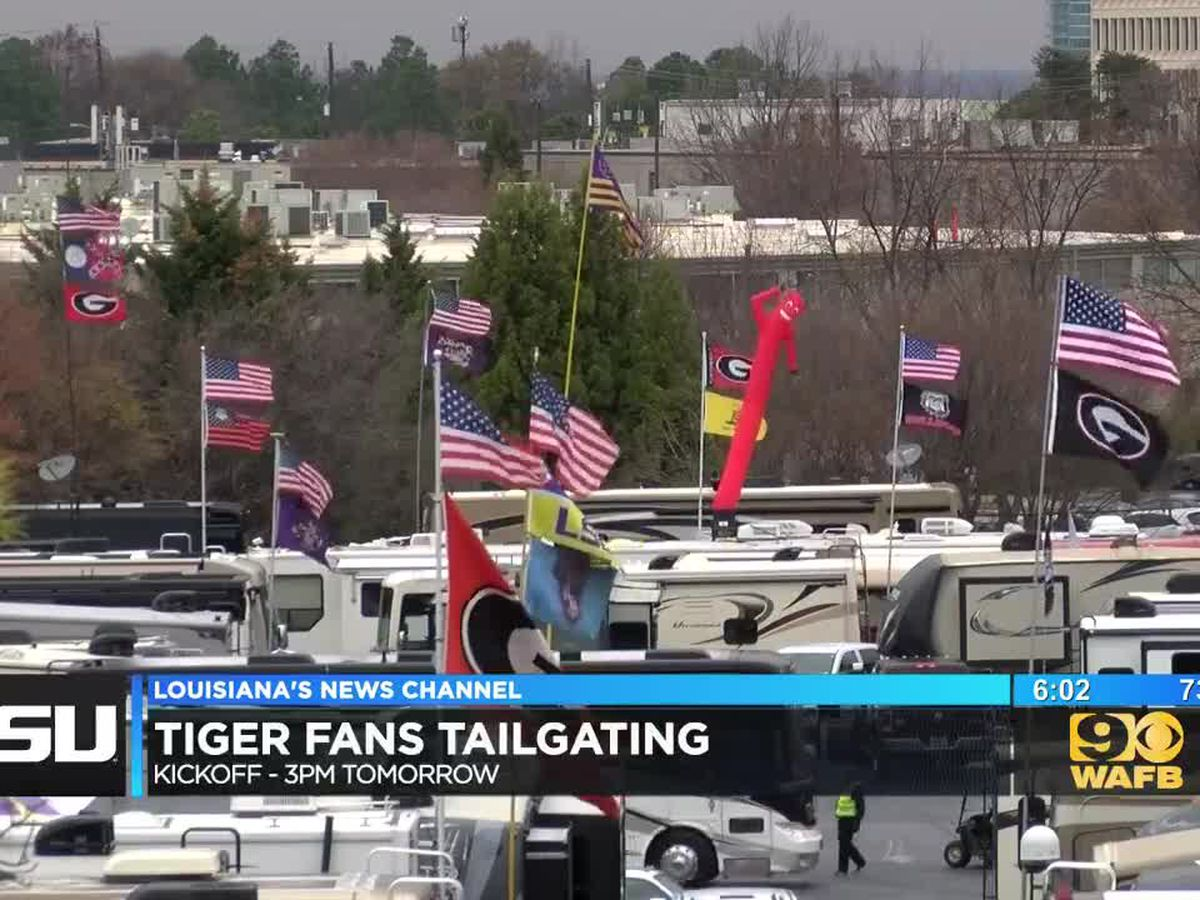 Who has the better tailgating fan base: LSU or Georgia?