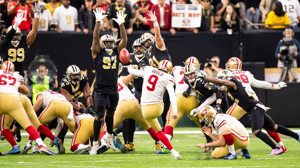 Niners beat Saints in a high-scoring contest