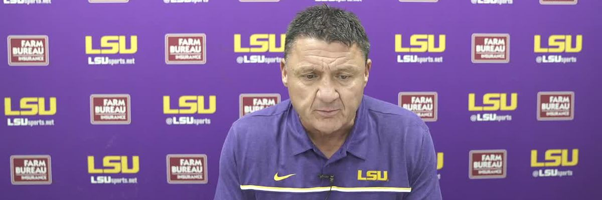 Ed Orgeron - 11/21/20 (Full Interview)