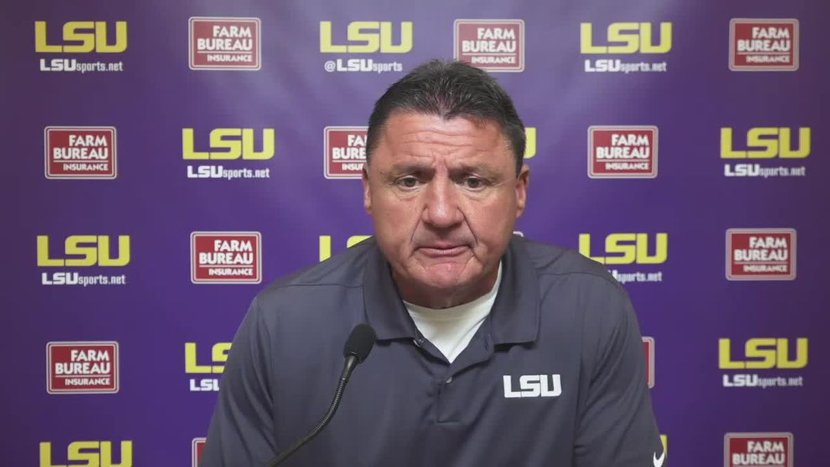 Ed Orgeron - 4/13/21 (Full Interview)
