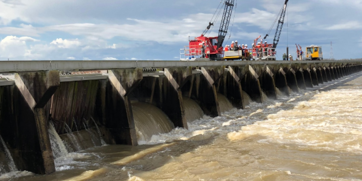 The Army Corps plans to begin closing Bonnet Carre Spillway Tuesday