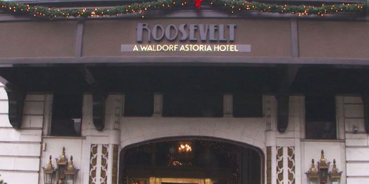 Where Y'at Adaline: Christmas at the Roosevelt Hotel