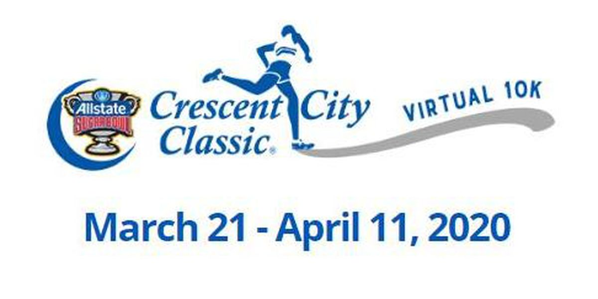 Crescent City Classic rolls on virtually; 1000 runners will get poster
