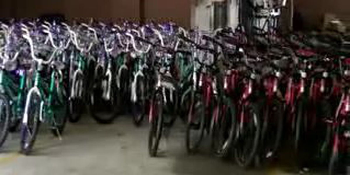 NOPD Sixth District gives 150 bikes away to kids
