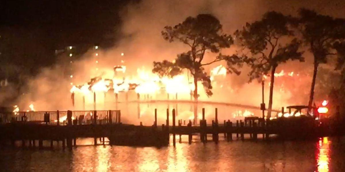 Massive fire destroys condo complex in Orange Beach, AL