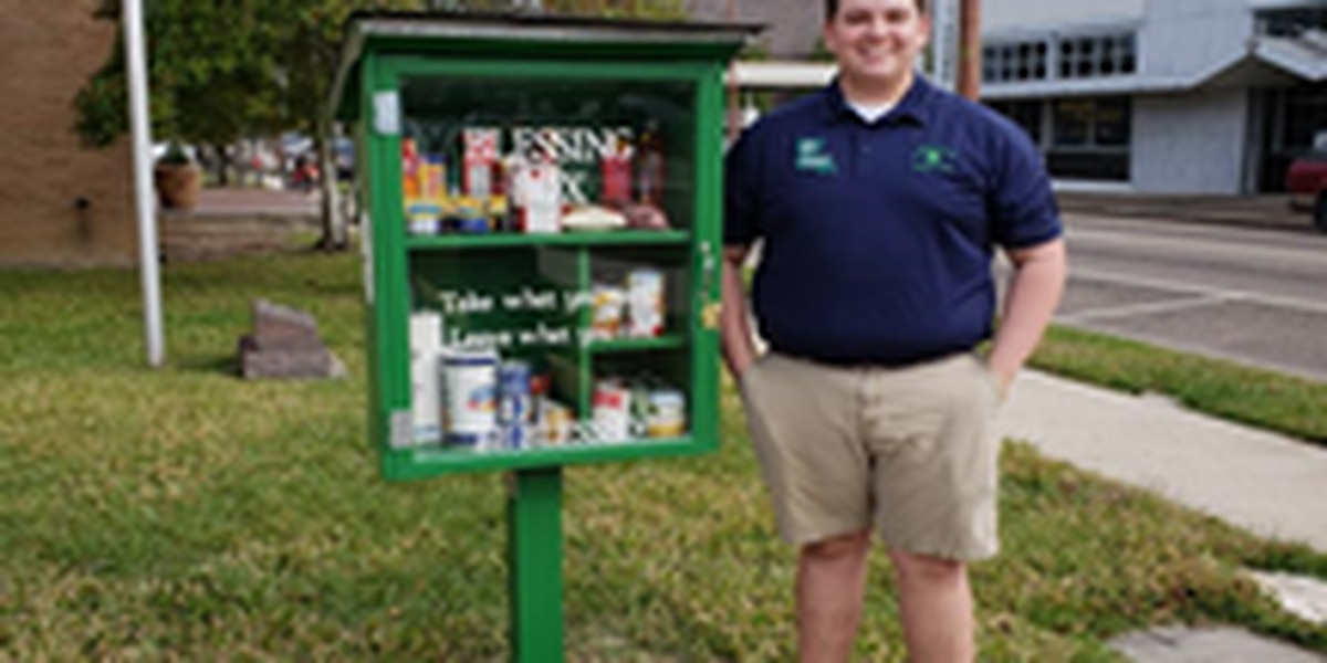 Gr8 Neighbor: Hammond high school student launches blessing boxes