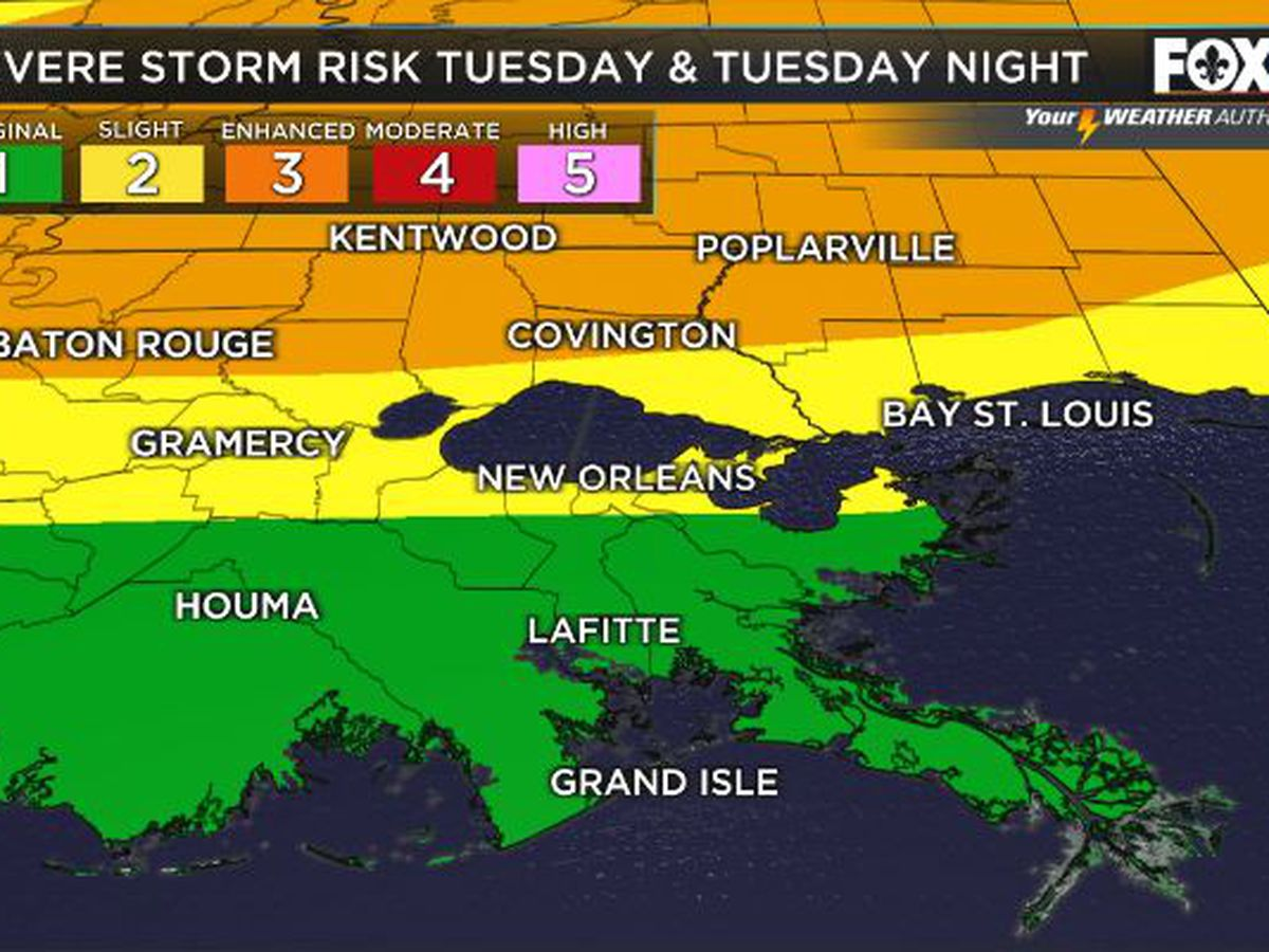 Severe threat Tuesday