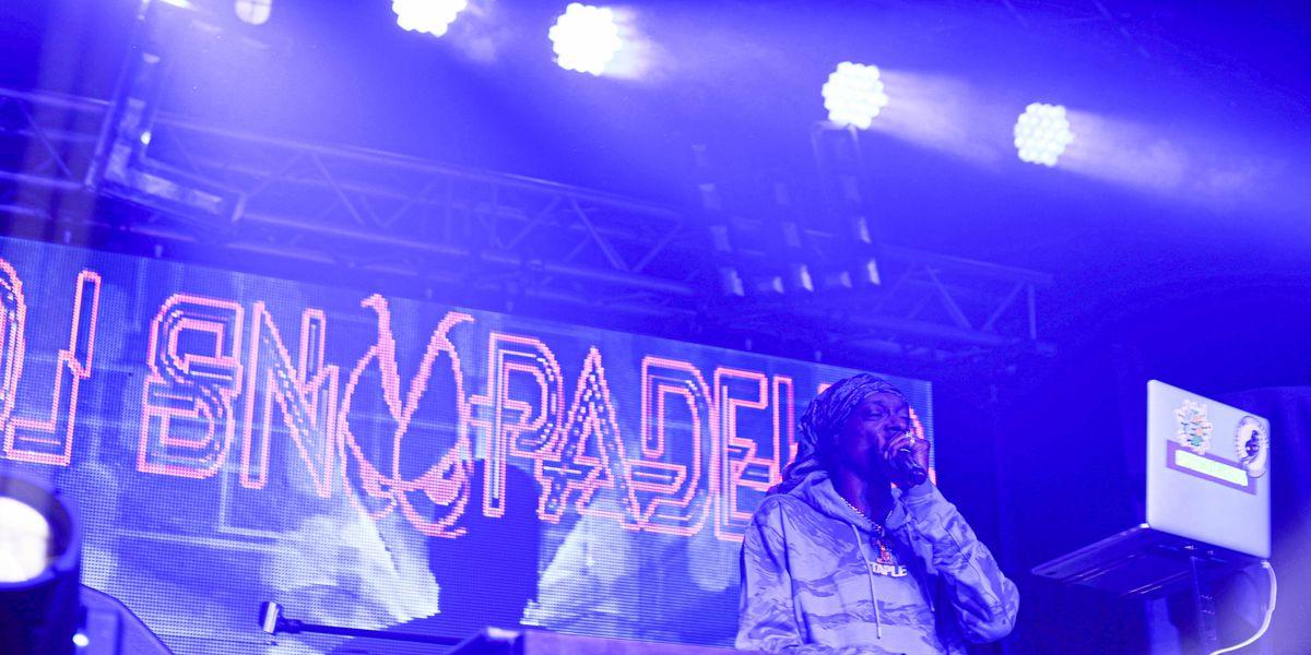 PHOTOS: Snoop Dogg DJs in downtown Baton Rouge