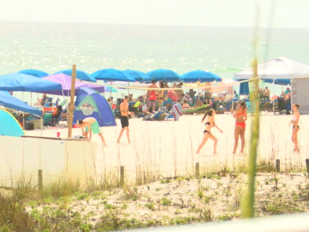 Coronavirus not deterring Panama City Beach crowds during Memorial Day weekend