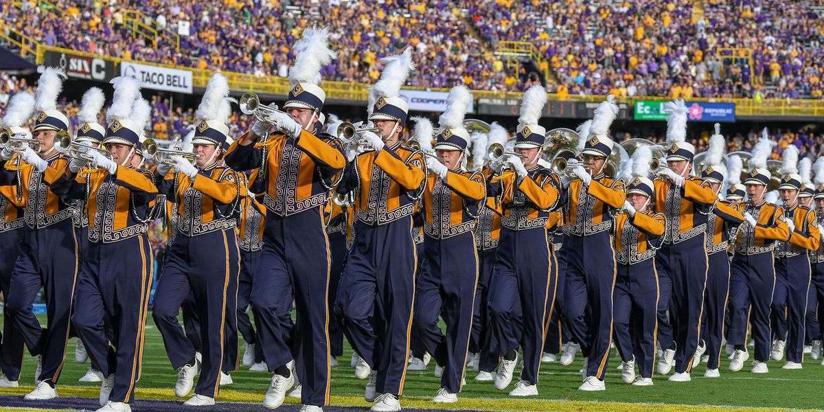 Golden Band alumni petition LSU band director to stop playing 'Red Zone'