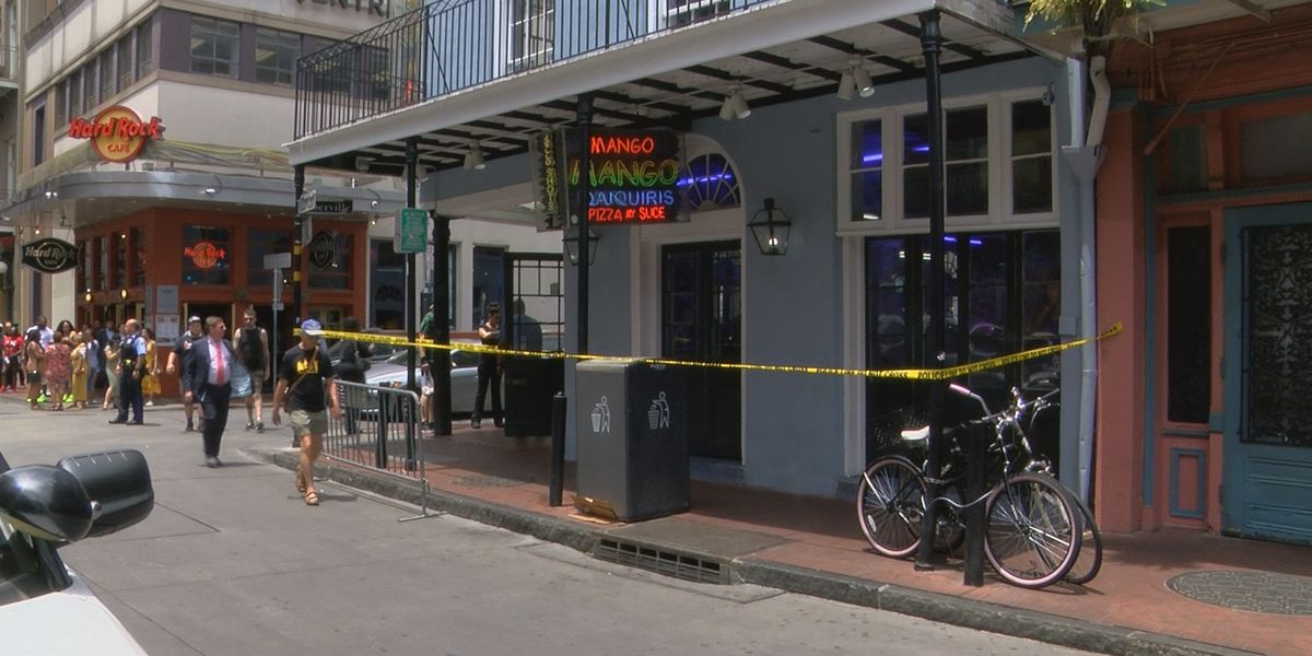 Calls for increased security after two Bourbon street shootings