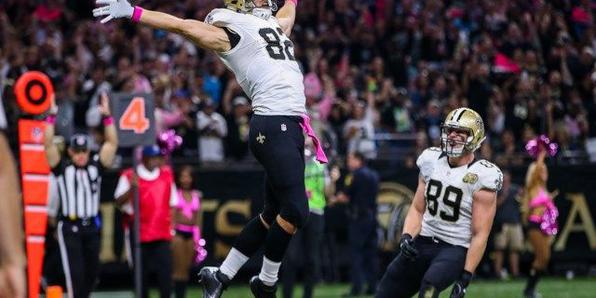 Lutz 52-yard field goal the difference in Saints 41-38 victory
