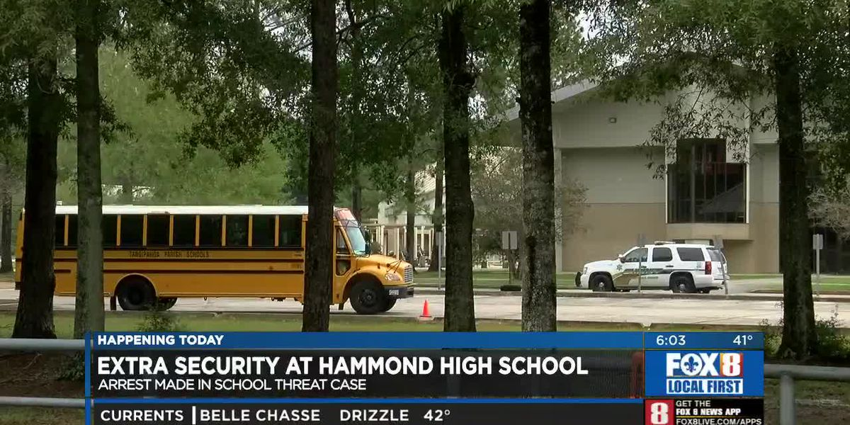 Increased Security at Hammond High School
