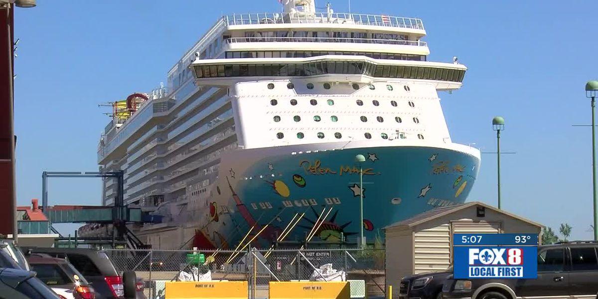 Hurricane Dorian detours cruise passengers to New Orleans