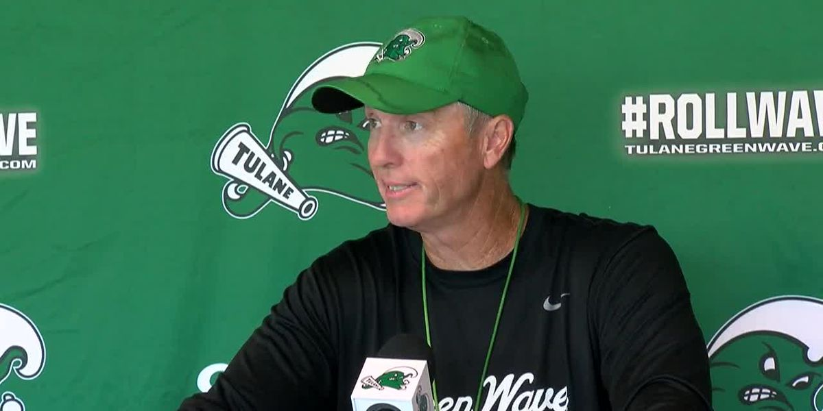 Tulane's Willie Fritz meets with media before Week 5 game at Army