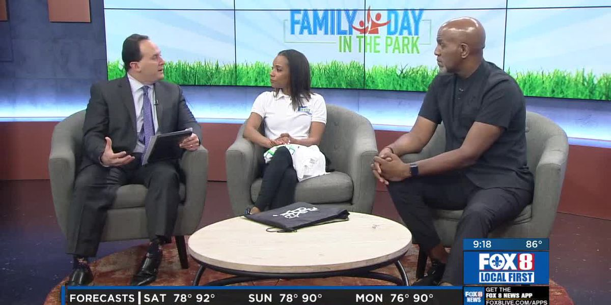Family Day in the Park – Pastor Lester Love and Andrea Jones