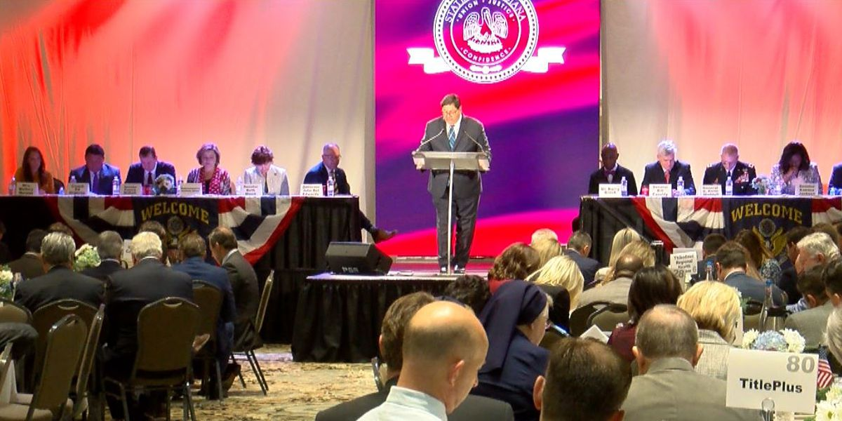 State leaders, Coach Orgeron join Gov. Edwards for prayer breakfast