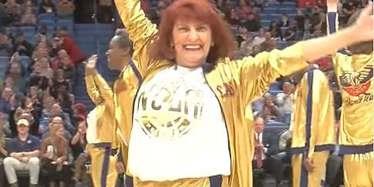 Half-court hustle: The Pelicans Senior Dance squad