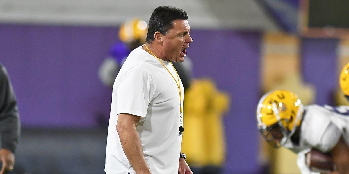 Coach O previews LSU spring football