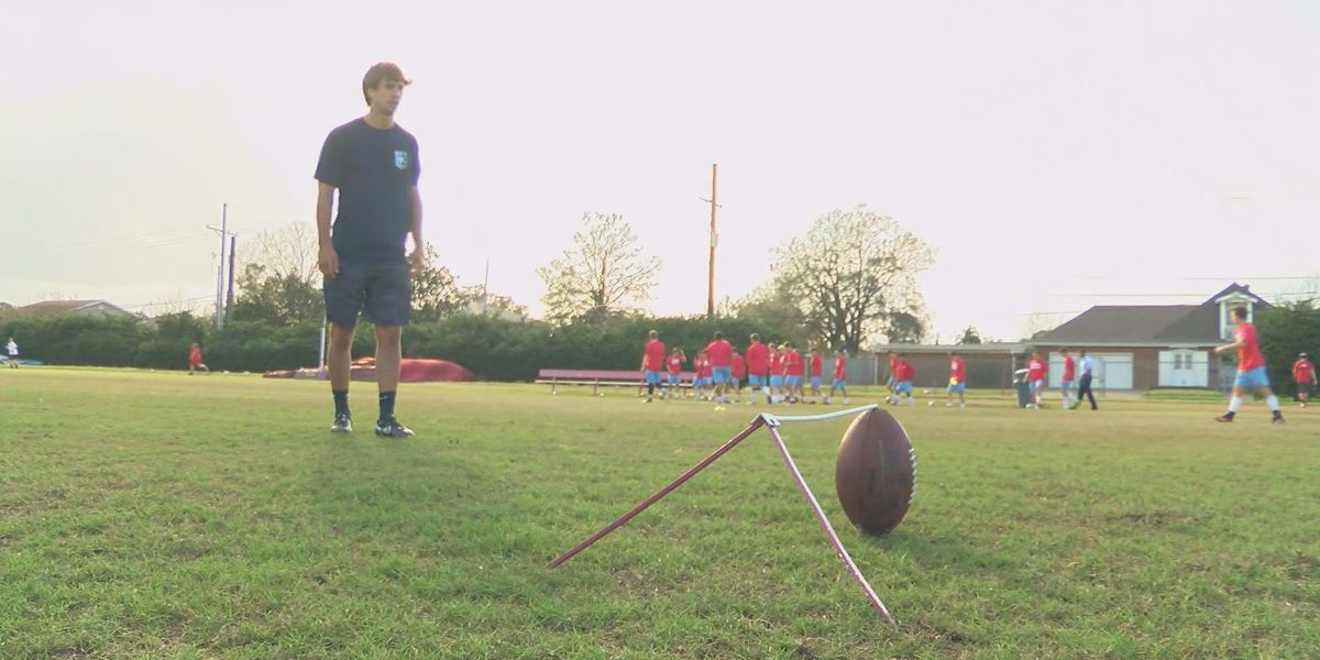 Rummel product Russolino hopes to kick his way to NFL
