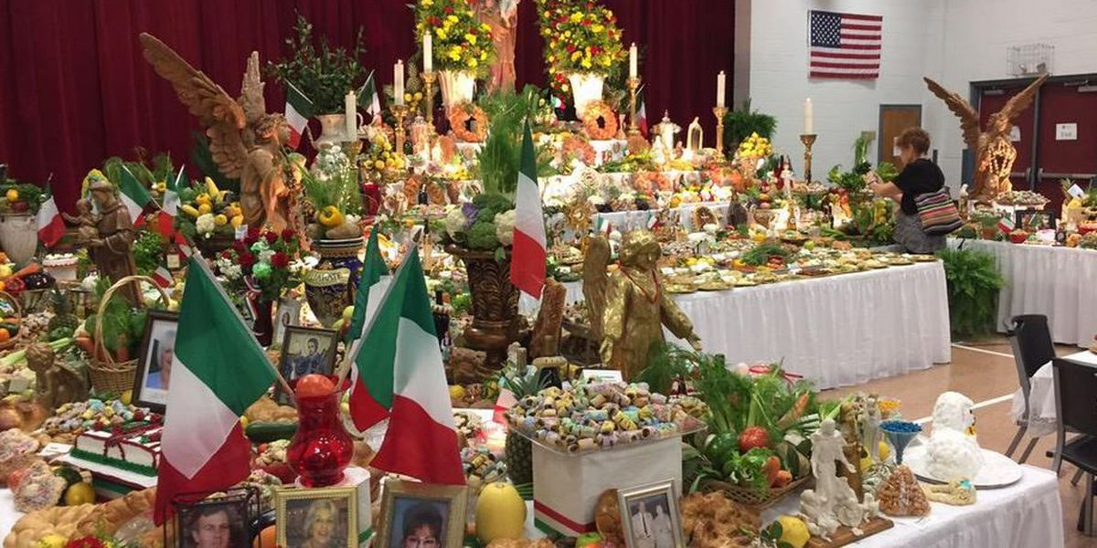 Archdiocese of New Orleans releases list of area St. Joseph's Altars