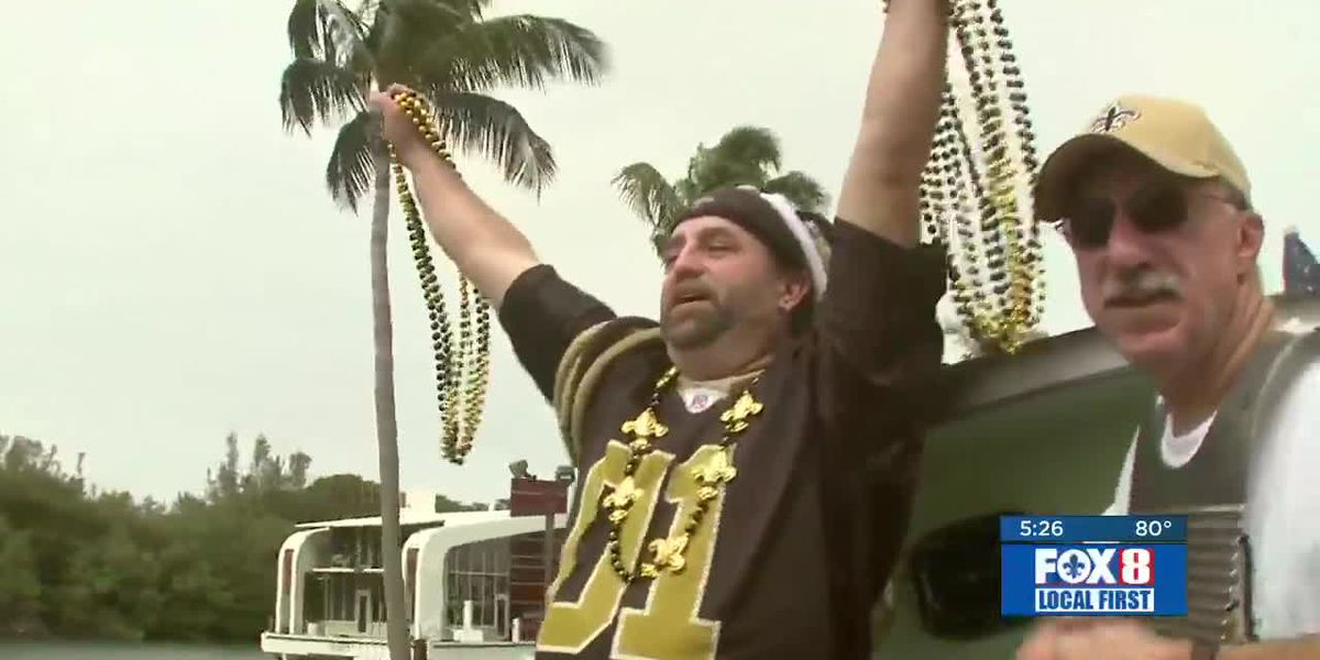 Remembering Nancy Parker: Saints fans in Florida for the 2010 Super Bowl