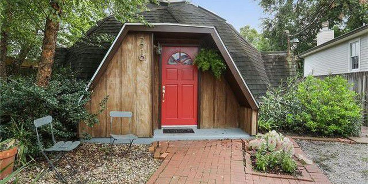Take a look at this unique Uptown Geodesic Dome Home