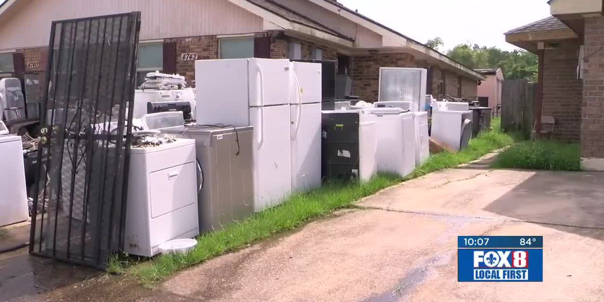 Fox 8 Defenders: Washer and dryer filled home